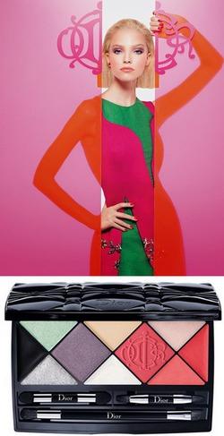 Dior и его яркая декоративная косметика Kingdom of Colours