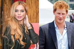 Линдси Лохан переехала в Лондон, чтобы выйти за принца Гарри?