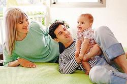 Макарские станут родителями сына