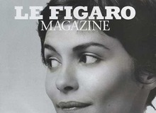 Одри Тату на обложке Le Figaro фото