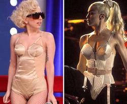 Мадонна спела нелестную песню о Леди Гаге