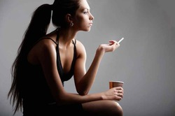 Отказ от сигарет действует сродни антидепрессантам