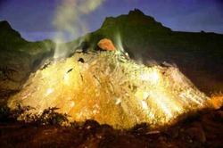 В Индонезии начал извержение вулкан Келуд