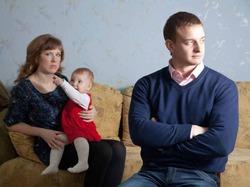 Семейные скандалы нарушают психику ребенка