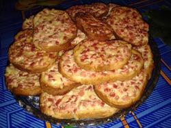 Бутерброды из духовки
