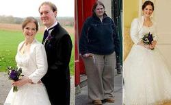 Как невеста сбросила к свадьбе 64 кг