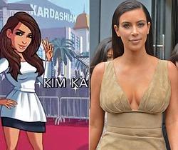 Ким Кардашьян – герой компьютерной игры