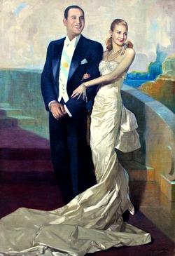 Платье с портрета: Эвита Перон