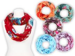 Способы завязывания шарфов, платков - #1