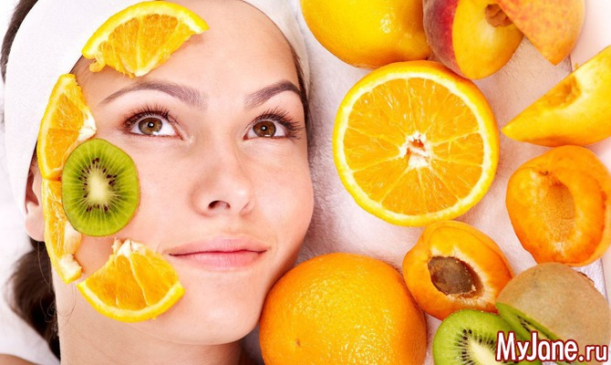 Рецепты масок из свежих фруктов и овощей