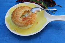 Куриный пирог в горшочке