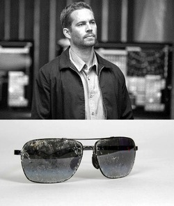 Очки, в которых был в день гибели Пол Уокер, выставлены на продажу