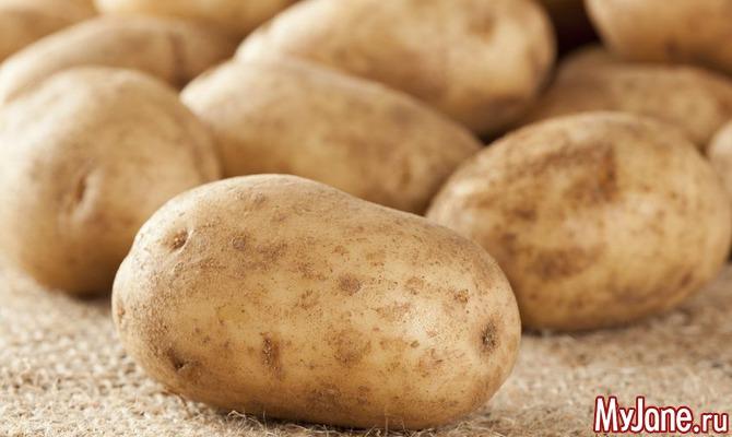 Картошка под соломой. Плюсы и минусы