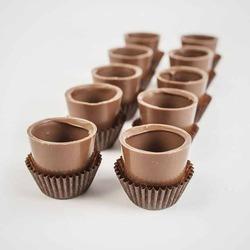 Шоколадные рюмки Chocolate Shots для десертов и напитков