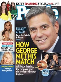 Джордж Клуни не поскупился на обручальное кольцо