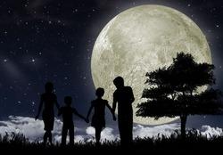 Скоро майское полнолуние – время вещих снов