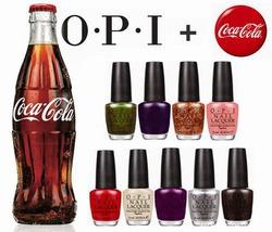 Вышла коллекция лаков для ногтей OPI и Coca-Cola