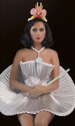 Портрет Кэти Перри вывешен в Национальной галерее США