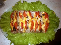 Гармошка из мяса