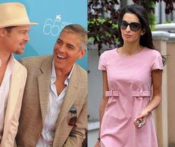 Невеста Клуни невзлюбила Брэда Питта