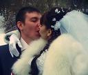 Горячий поцелуй в морозное утро!!!!!