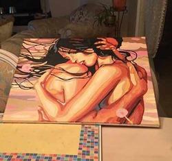 Лера Кудрявцева стала художницей