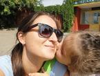 Самый сладкий поцелуй - поцелуй ребенка
