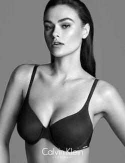 Calvin Klein считает модель 46-го размера толстой