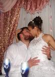 Наконец-то мы муж и жена! У нас скоро годовщина венчания!!!