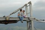 Поцелуй, состоявшийся где-то на заброшенной вышке в сердце Уральских гор, останется в памяти на всю жизнь!