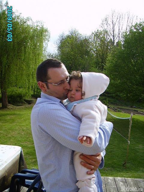 Папа и доченька!!!!!!!!!!