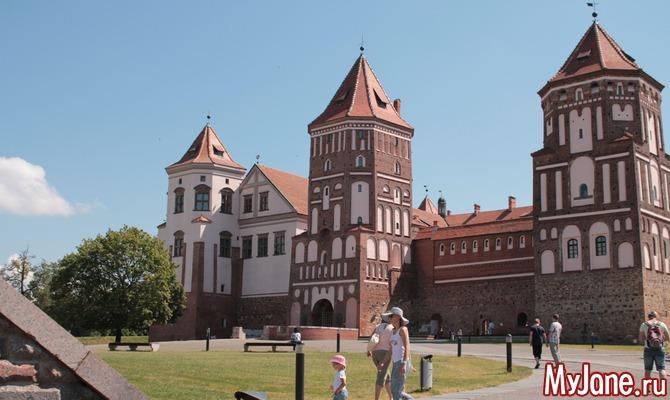 Путешествуем по Беларуси. Мирский замок.