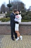 Мы поцеловались и теперь что-то происходит.)))