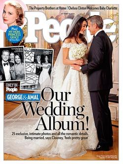 Джордж Клуни и Амаль Аламуддин: первые свадебные фото
