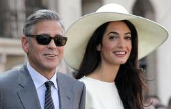 Свадебные снимки Джорджа Клуни спасут кому-то жизнь