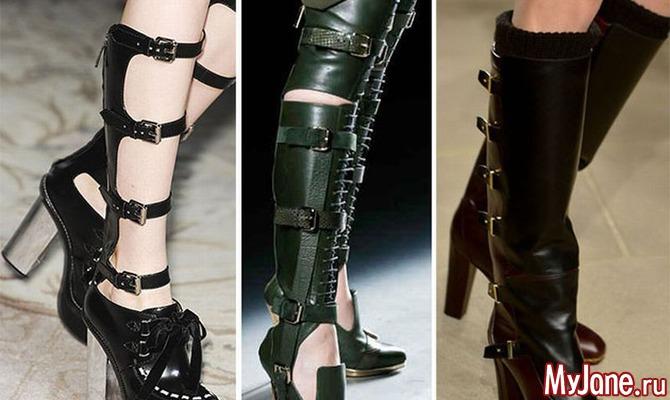 Модная осенняя обувь - 2014