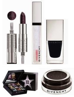 Чёрная роскошь праздничной коллекции косметики от Givenchy