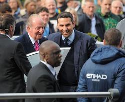Хуан Карлос посетил футбольный матч