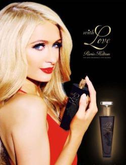 «With Love»: новый парфюм от Пэрис Хилтон
