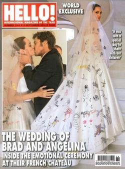 Джоли и Питт продали свадебные фотографии за 2 миллиона долларов
