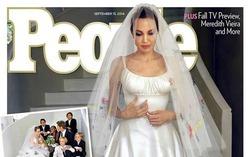 Питт и Джоли выгодно продали свадебные фото