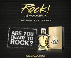 Новый парфюм Шакиры - «Rock!»