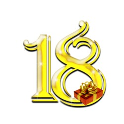 Цифра 18