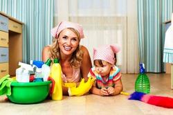 Сколько дел за день успевает сделать мама?