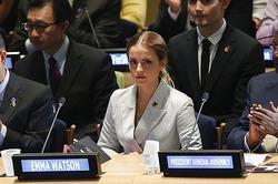 Эмма Уотсон выступила за равноправие женщин и мужчин