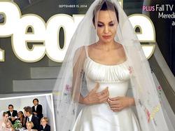 Свадебные снимки Джолипиттов не отразились на количестве продаж журнала People