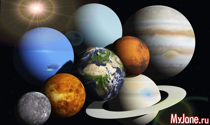Планеты, управляющие возрастом