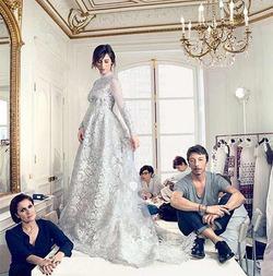 Свадебное платье жены Бенедикта Камбербэтча Софи Хантер (фото)