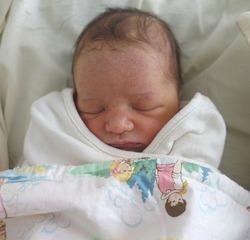 Первое фото Дашиэль - дочери Милы Йовович