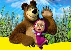 Мультсериал «Маша и Медведь» невероятно популярен в Италии